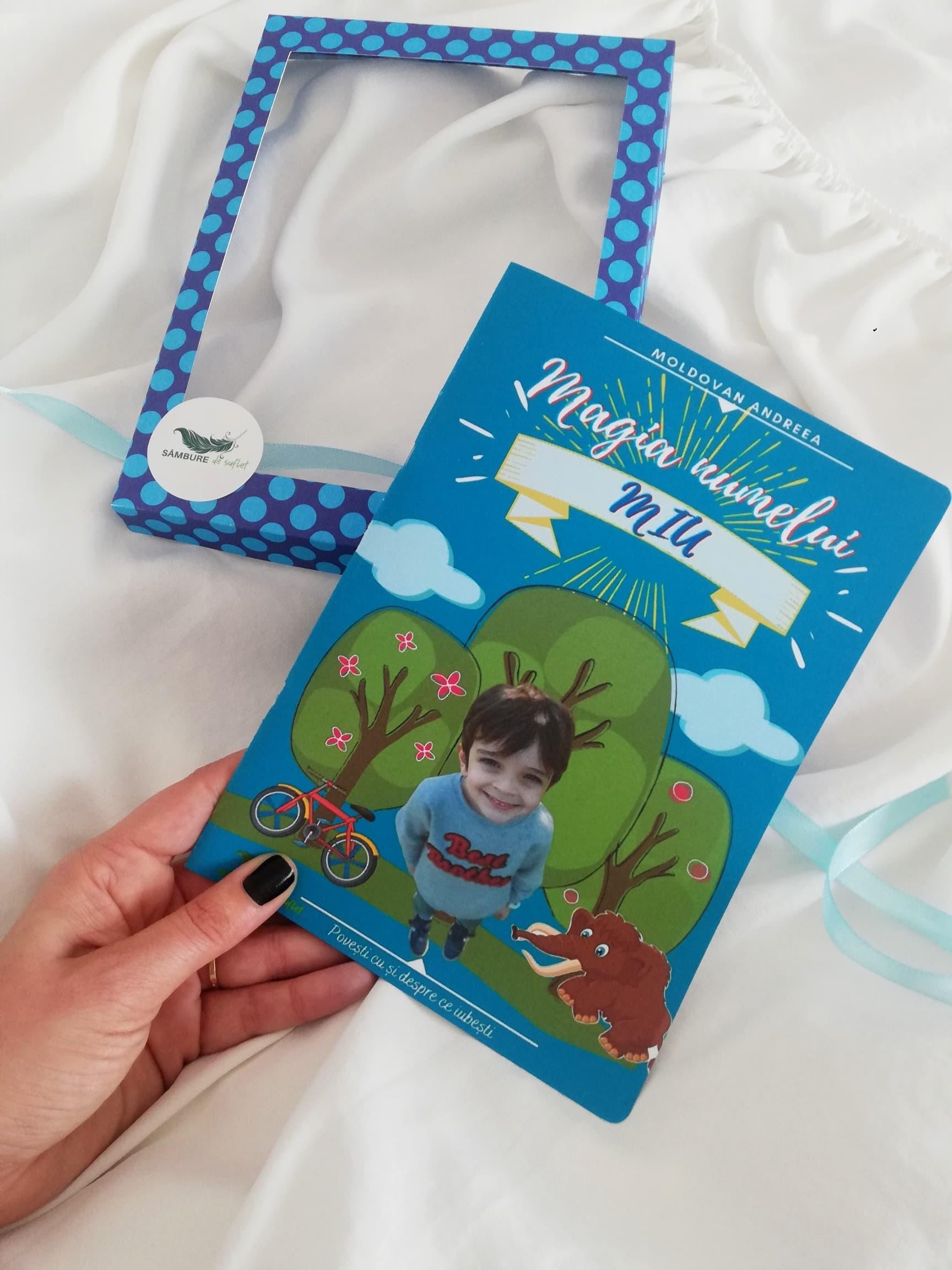 Poveste personalizata pentru copii